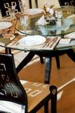 日本,中国餐馆内部 免版税库存照片