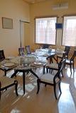 日本,中国餐馆内部 免版税库存图片