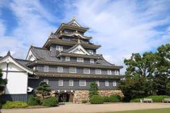日本:冈山城堡 免版税库存图片