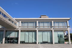 日本:原子弹爆炸圆顶屋博物馆 免版税库存照片