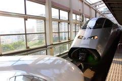 日本: Shinkansen 免版税库存照片
