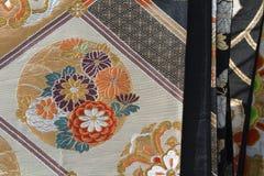 日本织品 图库摄影