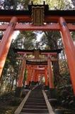 日本财富神的门 免版税图库摄影