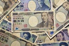日本货币 库存图片