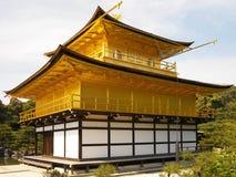 日本- Kinkaku-ji金黄寺庙 库存照片
