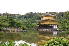 日本ji kinkaku寺庙 免版税库存照片