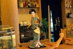 日本kabuki餐馆 免版税库存图片