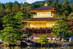日本kinkakuji京都寺庙 免版税图库摄影
