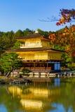 日本kinkakuji京都寺庙 图库摄影