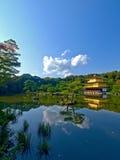 日本kinkakuji京都 库存照片