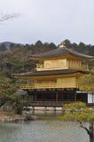 日本kinkakuji京都 免版税库存照片