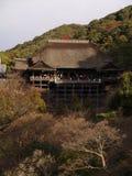 日本kiyomizu京都寺庙 库存图片