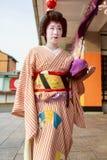 日本maiko 库存照片