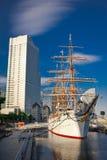 日本maru日本培训船 免版税图库摄影