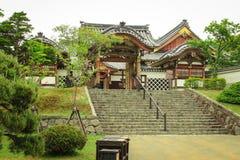 日本ninja村庄建筑学 免版税库存图片