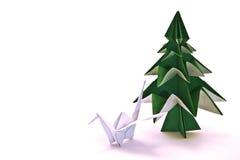 日本origami 图库摄影