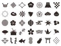 日本pattern2 向量例证