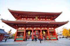 日本sensoji寺庙 图库摄影