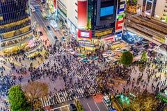日本shibuya东京 免版税库存照片