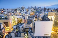 日本shibuya东京 图库摄影