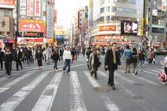 日本shinjuku 库存图片