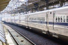 日本shinkansen 图库摄影