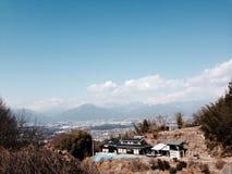 日本ville 免版税图库摄影