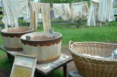 日洗衣店 库存图片
