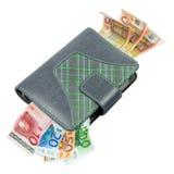 日程表企业欧元货币 免版税库存图片