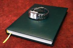 日程表手表腕子 库存图片
