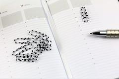 日程表的概念图象与拷贝空间的 库存照片