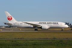 日航波音787 Dreamliner 免版税库存照片