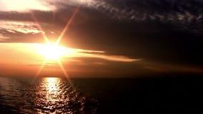 日落在不尽的海 影视素材