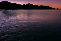 日落在澳洲 免版税图库摄影