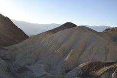日落在Death Valley 免版税库存图片
