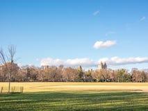 日落的中央公园 库存图片