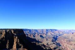 日落视图的大峡谷全景 免版税图库摄影