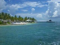 日落钥匙在基韦斯特岛,佛罗里达 库存图片