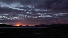 日落风景海湾苏格兰HD 影视素材