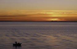 日落Mornington,维多利亚 免版税库存照片