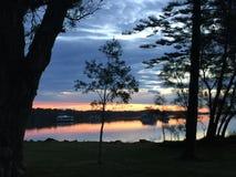 日落Taylors 图库摄影