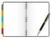 日计划程序 免版税图库摄影