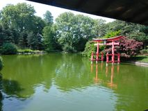 日语仍然从事园艺 库存图片