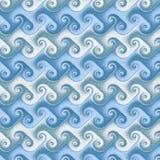 日语无缝的波浪 免版税库存图片