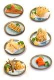 日语的烹调 库存照片