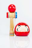 日语的玩偶 图库摄影