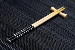 日语的筷子 免版税库存照片
