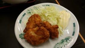 日语被油炸的配菜 库存照片