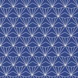 日语,中国传统亚洲几何无缝的样式 向量例证