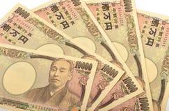日语10000日元 图库摄影
